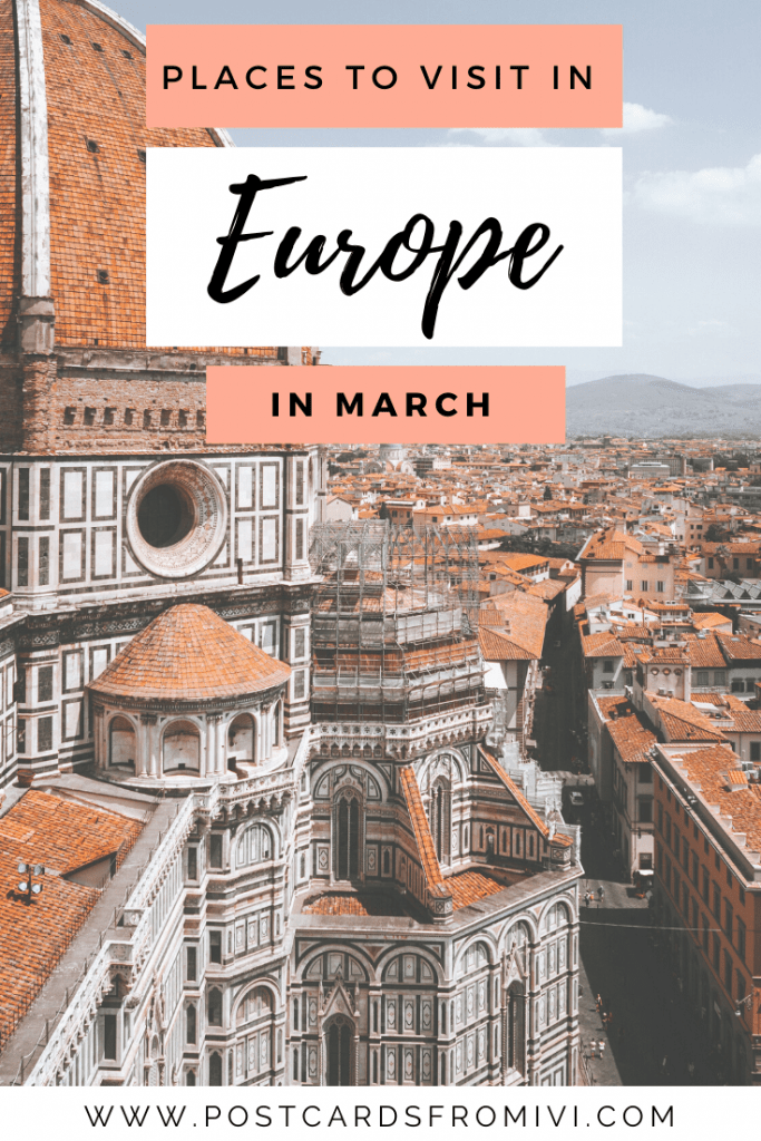 Europe in March: Best places to visit in March in Europe