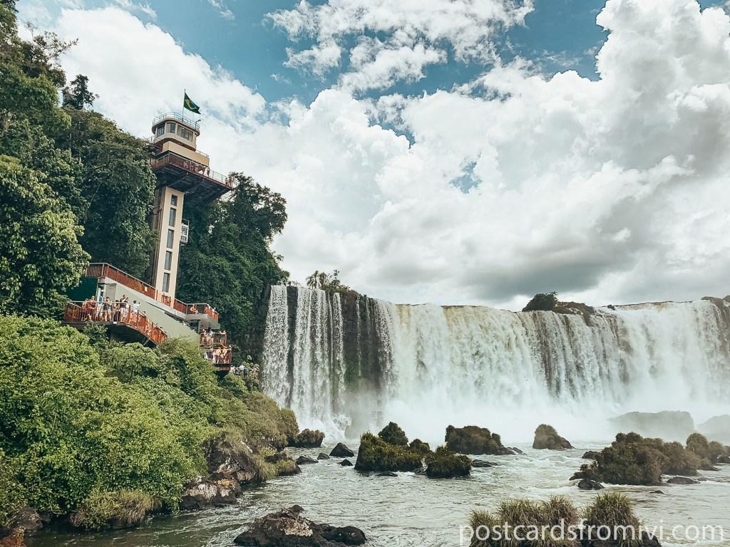 Visitar las Cataratas del Iguazú lado brasilero
