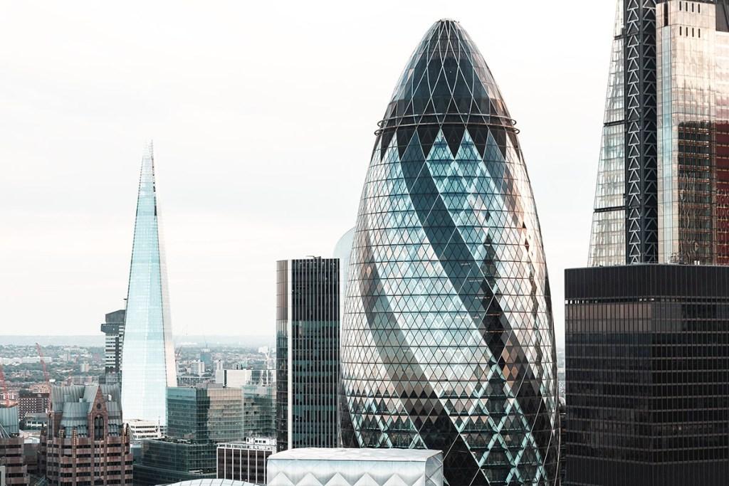 Arquitectura moderna de Londres