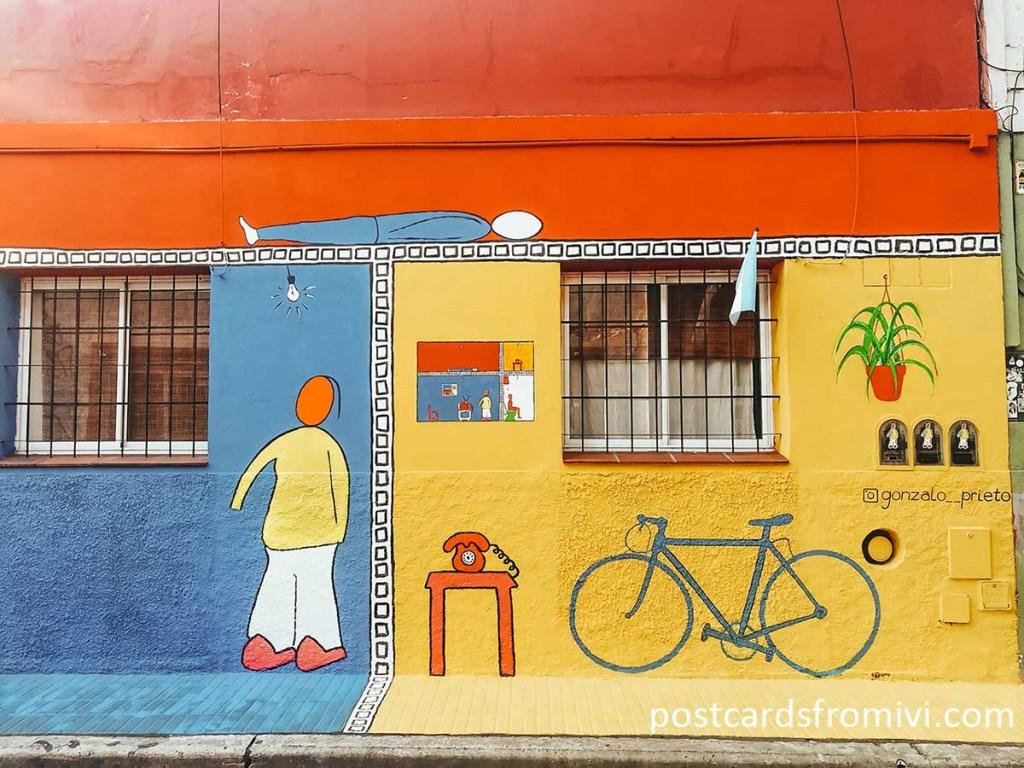Los mejores murales de Palermo Soho