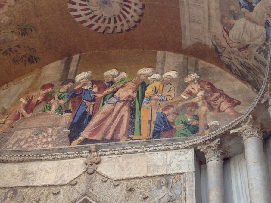 A sample of the mosaics of the Basilica