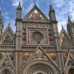 Orvieto's Spectacular Cathedral with Mosaics from L'Antica Vetreria Glass Masters