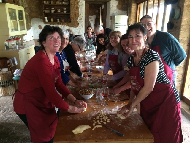 Puglia - Group cooking