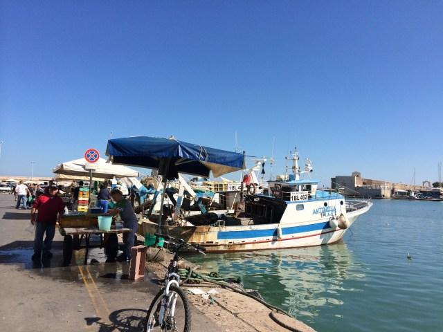 Puglia Trani marina fishermen-Photo Victoria De Maio