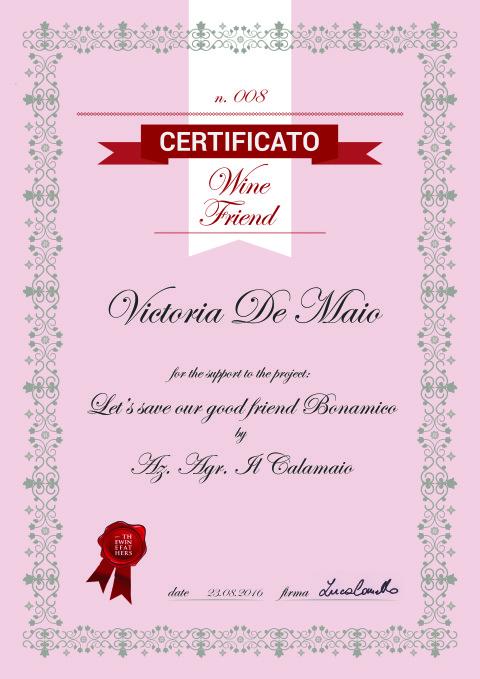 Italian WIne Trail - Victoria & Samuele