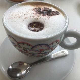 Puglia - cappuccino at Luca's