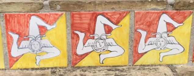 Sicily's symbol, the trinacria