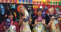 Margie Miklas, Susan Nelson& Orna O'Reilly Weber in Venice