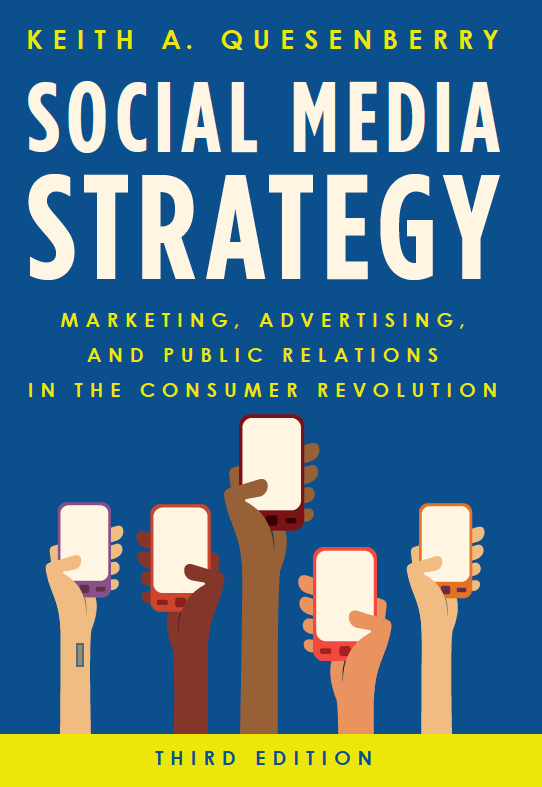 Social Media Strategy book quesenberry
