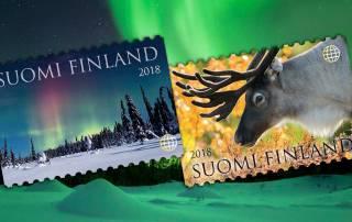 Ystävyyden valoa vuoden 2018 ensimmäisissä postimerkeissä