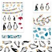 Inpakset Party Pinguïn van Nouk-san