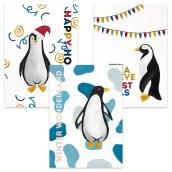 Kerstkaartenset Pinguïn van Nouk-san