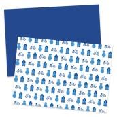Papier Holland Blauw van Nouk-san