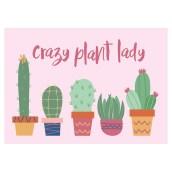 Postkaart Plantlady van OnlyHappyThings