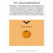 Printable DIY Halloween zakje