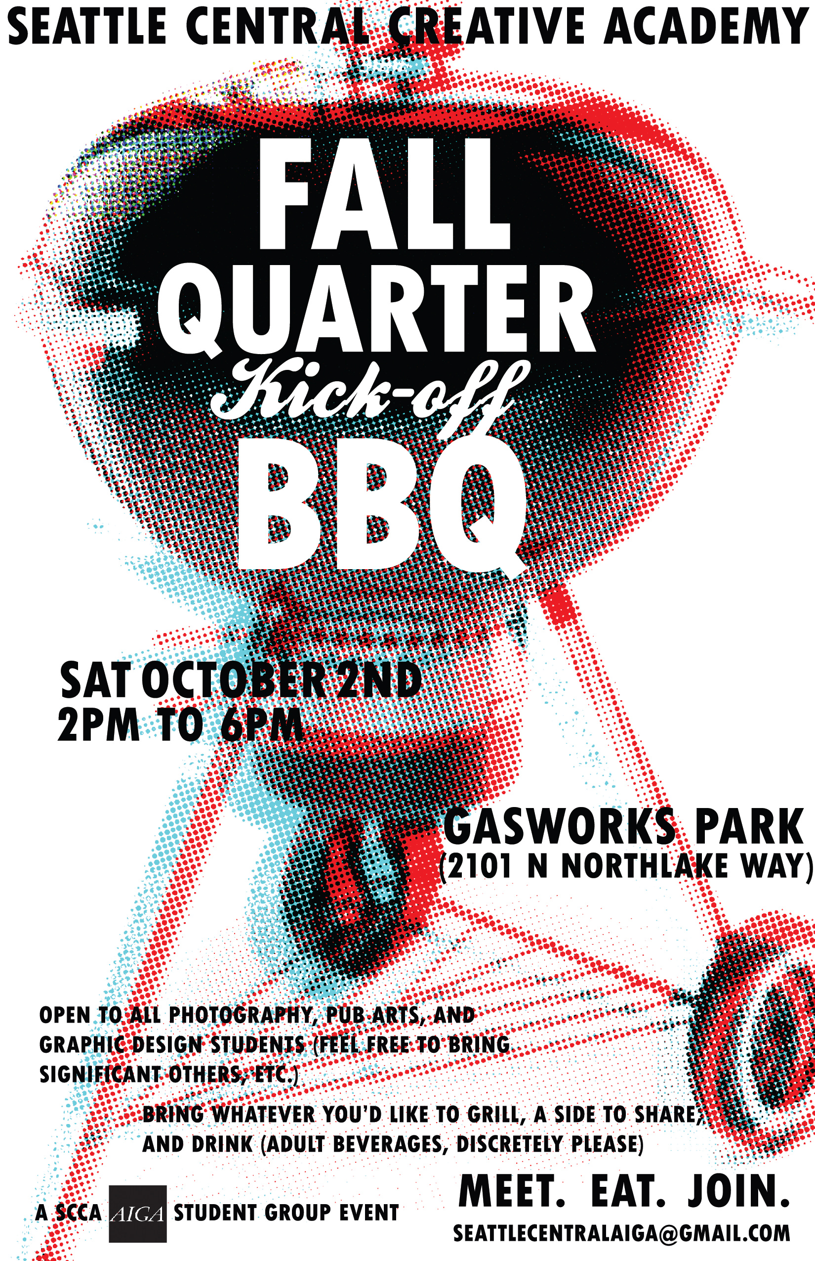 Poster a Week Free Posters Online - This Week: Fall Quarter BBQ, Event Poster