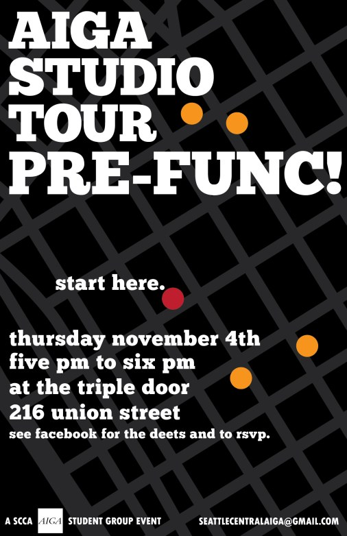 Poster a Week Free Posters Online - This Week: Studio Tour Prefunc, Event Poster