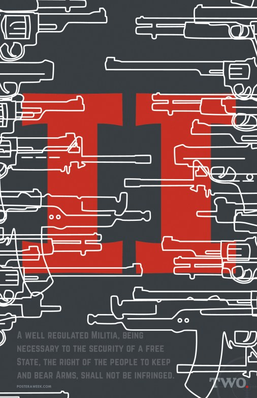 Poster a Week Free Posters Online - This Week: Second Amendment