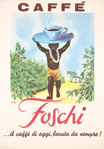 Caffe Foschi by Giann Rusa, 1960