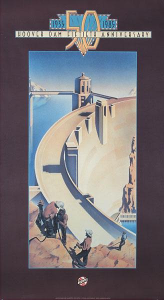 Hoover Dam Fifthieth Anniversary