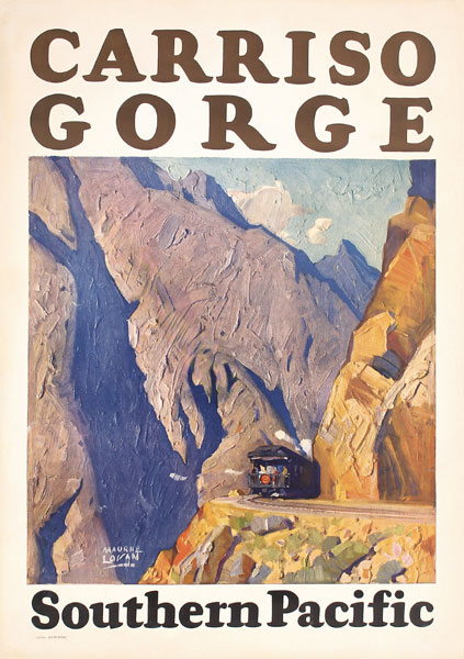 Southern Pacific - Carriso Gorge, 1929