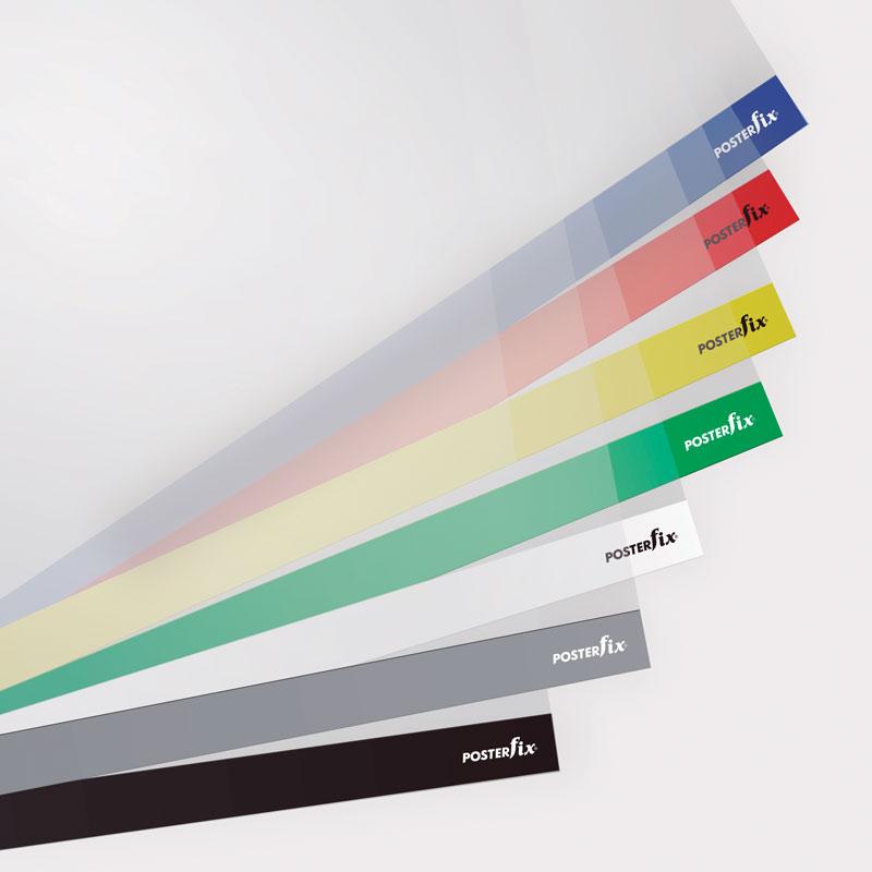 PosterFix® Gama de Colores Estándar