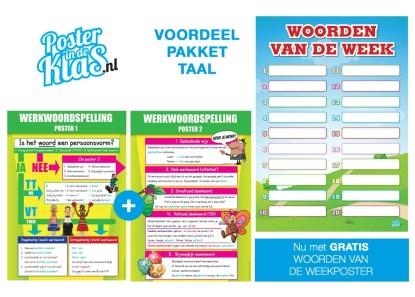 voordeelpakket Taal Poster in de Klas