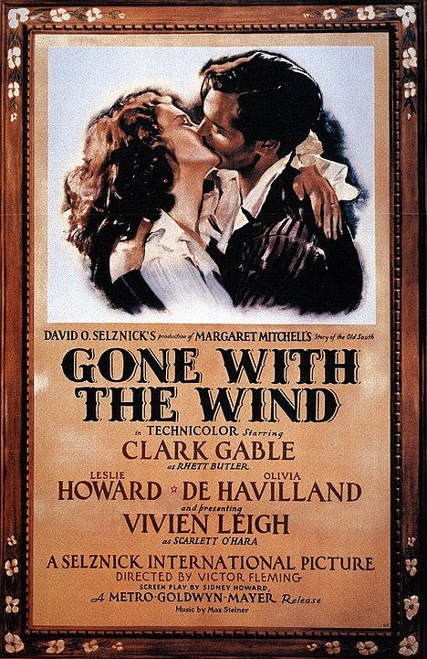 locandina gone with the wind