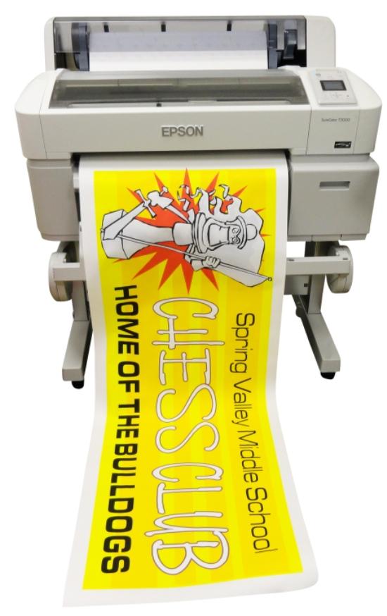 education pro color poster maker for