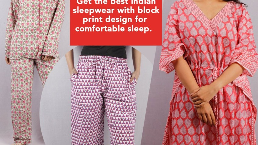 Block Print Sleepwear | shivalayajaipur.com | free Classified | Free Advertising | free classified ads