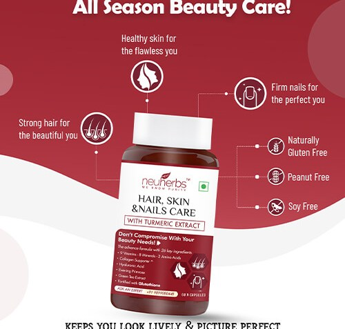 Neuherbs Hair Skin & Nails Supplement. | free Classified | Free Advertising | free classified ads