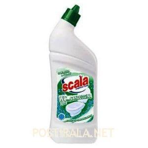Гель для унитаза SCALA WC gel con candeggina, 750 ml