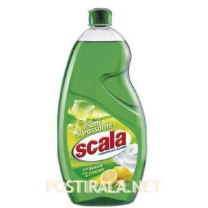 Жидкость для мытья посуды SCALA Detersivo per stoviglie con succo di limone, 1250 ml
