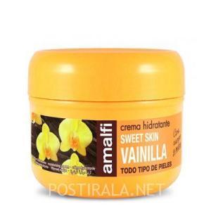 """AMALFI крем для тела, рук и лица """"ваниль"""", 200мл"""