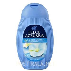 Гель для душа Felce azzurra muschio bianco, 400мл