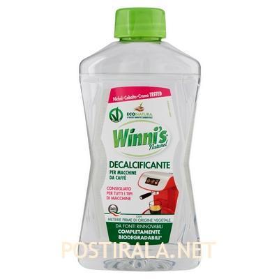 winni's для чистки кофемашин от известкового налета