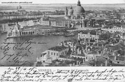 Venedig 1908 Blick vom Campanile