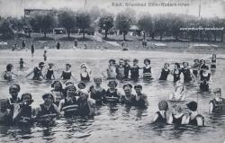 Ansichtskarte Köln-Rodenkirchen: Strandbad ca. 1920