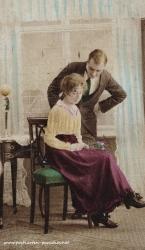 Alte Ansichtskarte Liebe, Paar