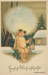 Weihnachtskarten mit Kindern