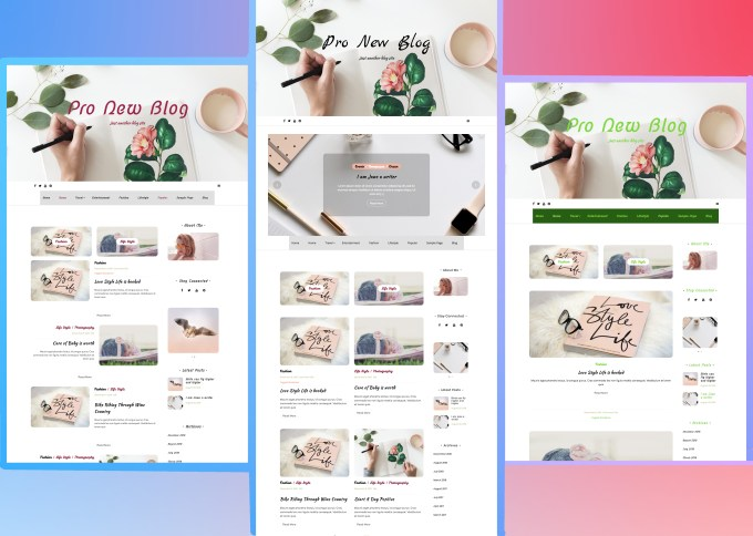 pro new blog