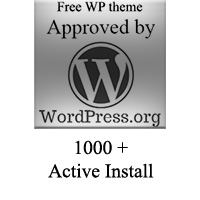 new blog a free wordpress theme