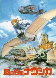 Poster för filmen Nausicaä från Vindarnas ö