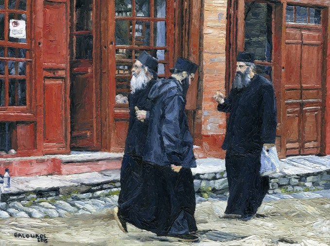 Μοναχοί στις Καριές
