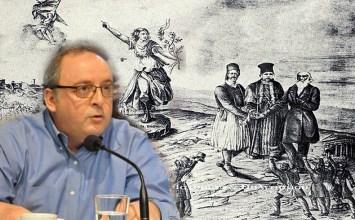 """Μία Σταγόνα Ιστορίας από τον Δημήτρη Καμπουράκη: """"Ο άγνωστος εμφύλιος του 1863"""""""