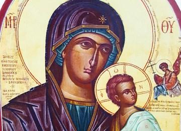 «Παναγία, Mήτηρ Θεού» από τον Φώτη Κόντογλου
