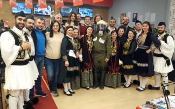 """Ηπειρώτικοι χοροί από την Πολιτιστική Ένωση """"Βουθρωτό"""" στην Ελληνοφρένεια"""