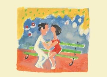 """""""Έρως στο παγκάκι"""", ένα βιβλίο για τρυφερούς συντρόφους από τον Αλέξη Κυριτσόπουλο"""