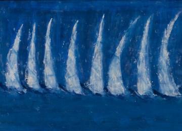 H μπλε παλέτα της Λίτσας Κασούμη