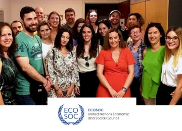 Το Κέντρο Μελέτης του Εγκλήματος ΚΕ.Μ.Ε. στο Οικονομικό και Κοινωνικό Συμβούλιο του Ο.Η.Ε.